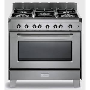 Verona Classic Series S/s 36 Gas Single Oven Range - VCLFSGG365SS