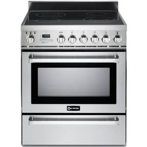 Verona Stainless Steel 30 Self-Cleaning Electric Induction Range - VEFSIE304PSS