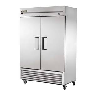 True 49 Cu.Ft Two Section Stainless Reach-in Freezer - T-49F