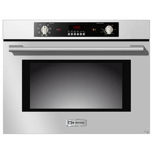 Verona 24 S/s Electric Wall Oven w/ 8 Cooking Functions - VEBIEM241SS