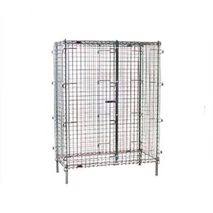 Eagle Group 51.25W x 27.25D x 67H Full Size Security Stationary Unit - SC2448-X