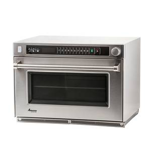 Amana 1.6cf Commercial Stackable Steamer Microwave Oven 3500w - AMSO35