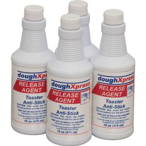 DoughXpress 16oz Platen Coating Release Agent 4 Pack - RELEASE AGENT-CS