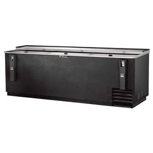True TD-95-38 95in Deep Well Horizontal Bottle & Can Bar Cooler