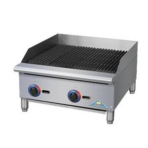 Comstock Castle BR Series 24 Manual Gas Countertop Charbroiler 70KBTU - BR24