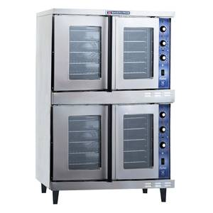 Bakers Pride Cyclone Dual Deck Electric Convection Oven - 208v/3ph - GDCO-E2