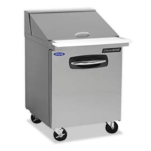 Nor-Lake 48-1/4 Mega Top Refrigerated Counter Sandwich or Salad Unit - NLSMP48-18-001