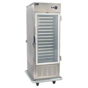 Carter-Hoffmann Air-Screen Trayline Mobile Refrigerated Cabinet - PHB495HE