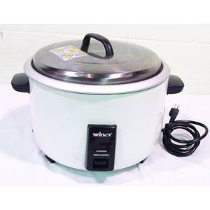 Used Winco 30 Cup Capacity Electric Rice Cooker, Makes 60 Cups Cooked - RC-P300