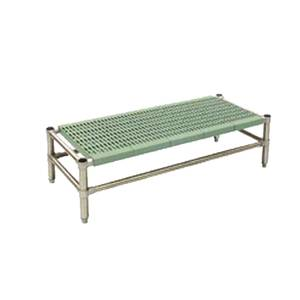 Eagle Group LIFESTOR 50Wx18Dx14H Deep Dunnage Rack with Polymer Shelf - DR-L1850PSM