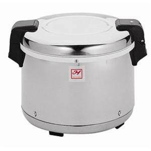 Thunder Group 30 Cup Stainless Steel Mirror Finish Electric Rice Warmer - SEJ20000
