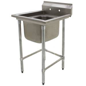 Eagle Group S16 Series 1-Compartment Stainless Steel Sink-20x20 Bowl - S16-20-1
