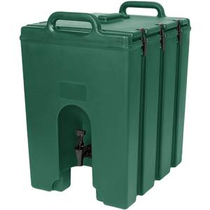 Cambro Camtainer® 11-3/4 gallon Beverage Carrier - Green - 1000LCD519