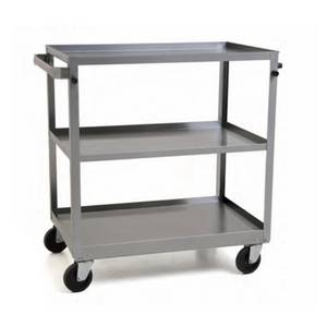 Eagle Group 3-tier 19Wx31Dx32H Stainless Steel Utility Cart - UUC-322