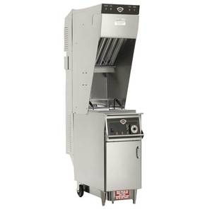 Wells 55 lb Electric Ventless Open Fryer With Built In Oil Filter - WVAE-55FC