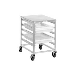 Channel Manufacturing Mobile Aluminum Ingredient Bin Organizer Cart - 5 Level - PBA405A