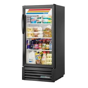 Swell True Gdm 10 Hc Tsl01 25 One Section Refrigerated Merchandiser With Three Shelves Home Interior And Landscaping Ologienasavecom