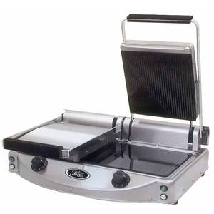 Cadco Double Panini / Clamshell Grill - CPG-20