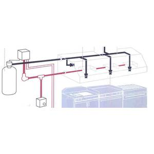 Superior Hoods Fire Suppression System for 4' Hood - FIRE SUPP-4