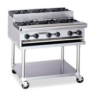 American Range Heavy Duty 12 Gas 2 Burner Step Up Hot Plate - SUHP12-2
