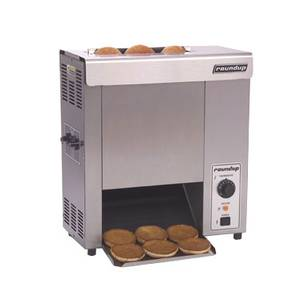 A.J. Antunes - Roundup Stainless Steel Vertical Contact Toaster w/ Control Dial - VCT-50