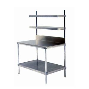 PVI Food Service 36in Stainless Food Service Prep Station Table - W307236