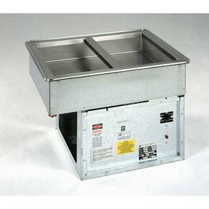 Atlas Metal Industries WCM-6 Electric Drop In Iced Salad Bar Cold Pan-6 wells-Std Depth