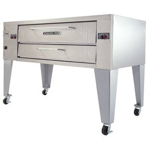 Bakers Pride Pizza Oven Super Deck Gas Single Deck Oven 60inW x 36inD - Y-600