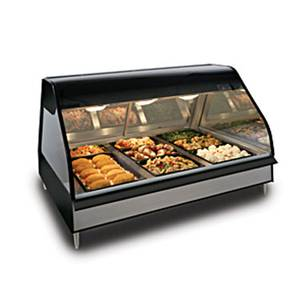 Alto-Shaam ED2-48-BLK Halo 48in Counter Heated Food Display System Full Service