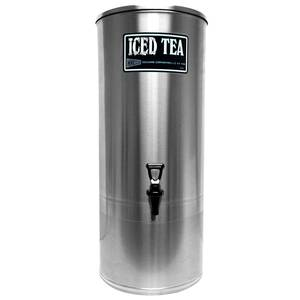GMCW 5 gal. Stainless Steel Iced Tea Dispenser - S5