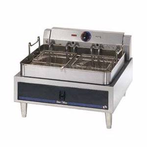 530FD Star-Max Counter 30lb Single Pot Twin Basket Electric Fryer