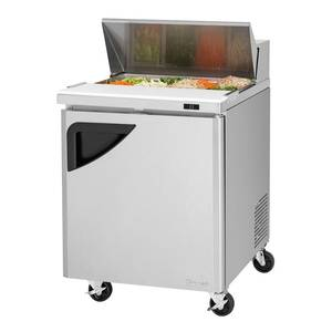 Turbo Air TST-28SD 28 Commercial Sandwich Salad Prep Cooler 8 Pans NSF