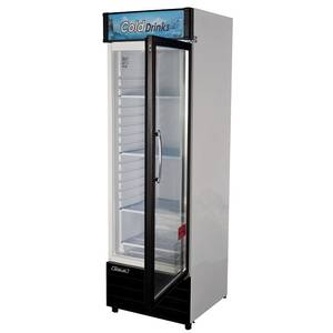Turbo Air TGM-14RV 14cf Commercial Glass Door Cooler Merchandiser