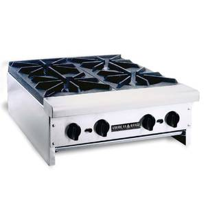 American Range Counter Top 36 LP Gas 3 Burner Hot Plate - ARHP36-3 LP