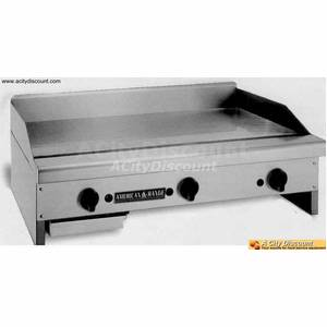 American Range 12in Commercial LP Gas Flat Griddle - ARMG-12LP