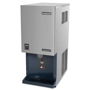 Scotsman MDT3F12A-1H Flake Ice Maker Machine & Dispenser 290lb Countertop Unit