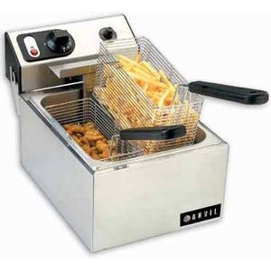 Anvil America FFA7110 10lb Single Well Fryer Electric Counter Top NSF 110 Volt