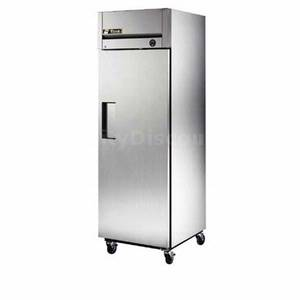 True TM-24F Top Mount 24 Cu.Ft Commercial Freezer Stainless Swing Door