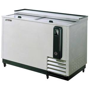 Turbo Air TBC-50SD 5Ft Stainless Steel Bottle Cooler 15CuFt