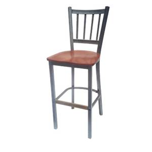 AAA Furniture Restaurant Wrinkle Back Metal Bar Stool w Finish Option - 309BS