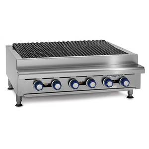 Imperial Range 36 Commercial Gas Radiant Char Broiler Grill Counter Top - IRB-36