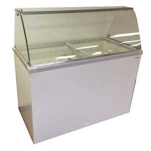4 Flavor Deluxe Ice Cream Dipping Cabinet 8.6 Cu.Ft - DDC-30