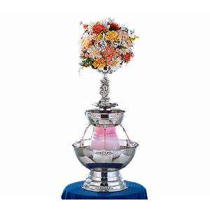 Apex Fountains 4016-SS Tropicana 3 Gallon Stainless Champagne Beverage Fountain