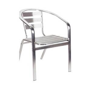 American Tables & Seating 55 Restaurant Indoor Outdoor Aluminum Chair