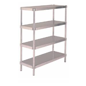 PVI Food Service N184860-3 Shelving Unit Heavy-Duty Aluminum 18x60x48 w 3 Shelves
