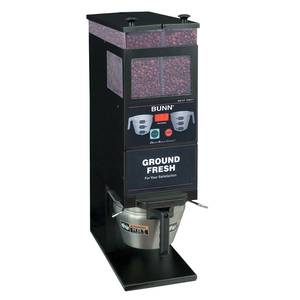 Bunn Coffee Bean Grinder Two 6lb Hoppers Digital Portion Control - G9-2T-DBC-0001