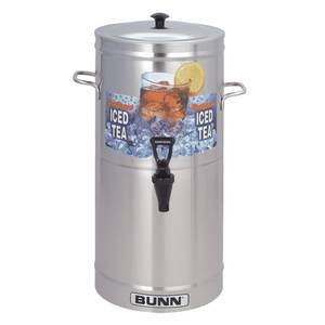 BUNN Iced Tea Dispenser 3 Gallon Urn TDS-3 - TDS-3-0000