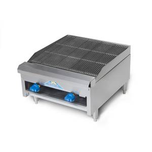 Comstock Castle ERB18 18 Radiant Charbroiler Counter Top Gas Char Grill