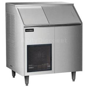 Ice-O-Matic EF250A38S 400lb Flake Ice Maker Self Contained Ice Machine 213lb Bin