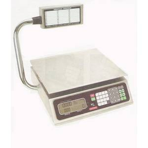 Tor-Rey Electronics PC-40L-T Digital Price Computing Scale 40lb Capacity w/ Turret